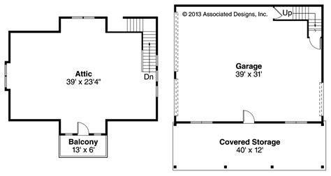 attic floor plan craftsman house plans garage w attic 20 099 associated designs