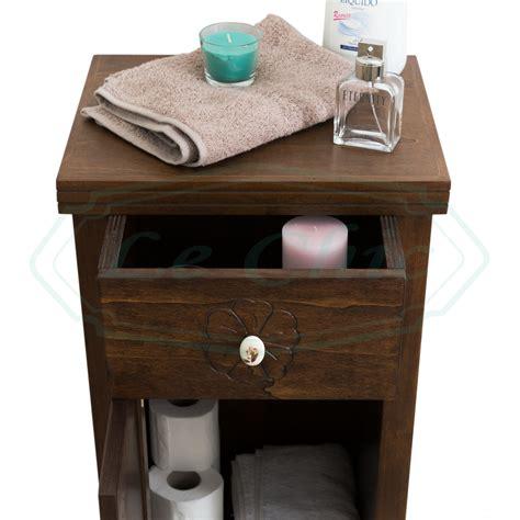 mobiletto bagno arte povera mobile arte povera con anta e cassetto mobiletto multiuso