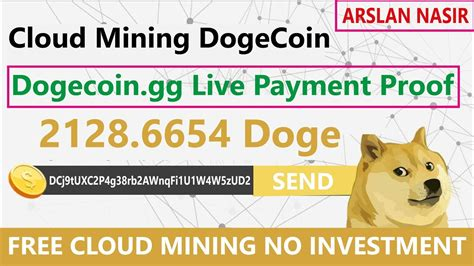dogegg  dogecoin cloud mining site  withdrawal
