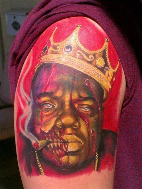 la mancha tattoo biggie by sandoval la mancha tattooz