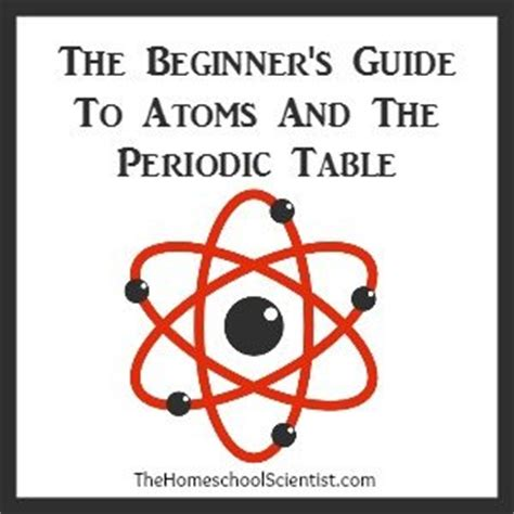 a beginner s guide to the periodic table fearing chemistry beginners guide to atoms and the