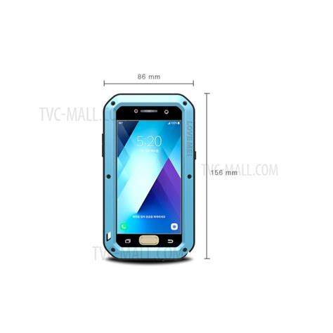 Samsung Galaxy A5 2017 Mei Powerful Casing Cover Bumper mei powerful phone for samsung galaxy a5 2017 shockproof dropproof dustproof cover