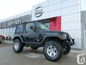 2006 jeep tj rubicon for sale in vernon ontario