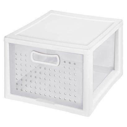 Sterilite Closet Drawer by Sterilite Medium Modular White Storage Drawer Closet