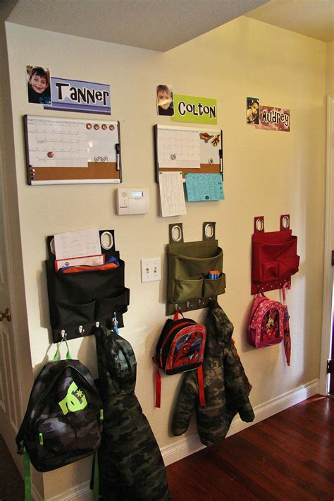 entryway backpack storage adventures in pinteresting entryway organization for kids