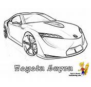 Bossy Cars Coloring YES COLORING Free Trucks Sports