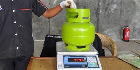 Tabung Elpiji 3 Kg Dari Pertamina dituding ada kecurangan berapa berat normal tabung gas 3 kg merdeka