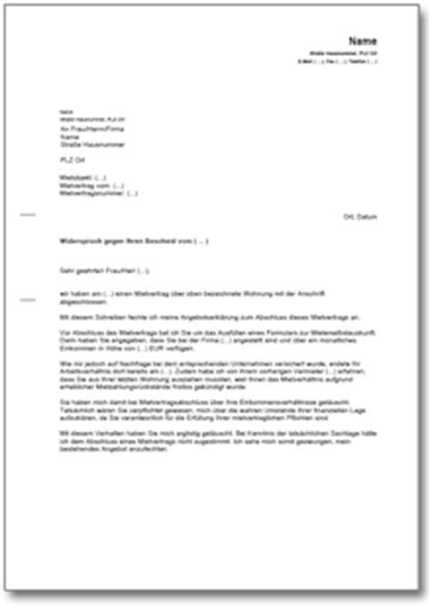 Angebot Annehmen Musterbrief Anfechtung Des Mietvertrages Wegen Falscher Angaben Zum Einkommen De Musterbrief