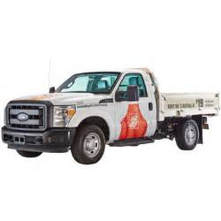 home depot truck rental cost load n go flatbed truck