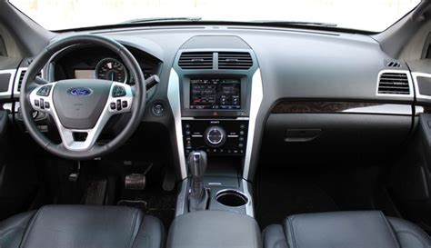 Ford Explorer 2011 Interior by Review 2011 Ford Explorer Limited Autoblog