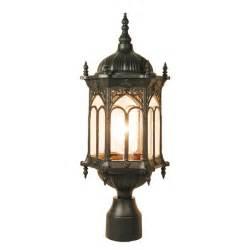 Outdoor Pillar Lighting Outdoor Pillar Post Light Lighting Ot0007m Pt Ebay