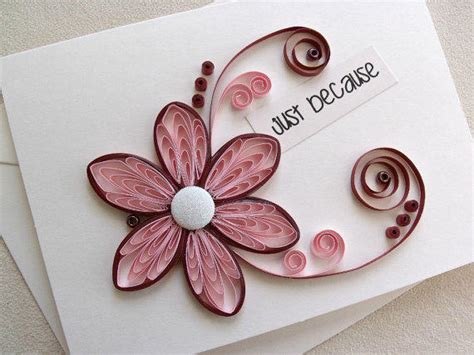 Handmade Paper Quilling - handmade paper quilled all occasion or from sayitwithblooms on