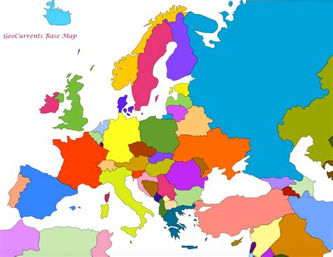 map of europe map cartography geocurrents