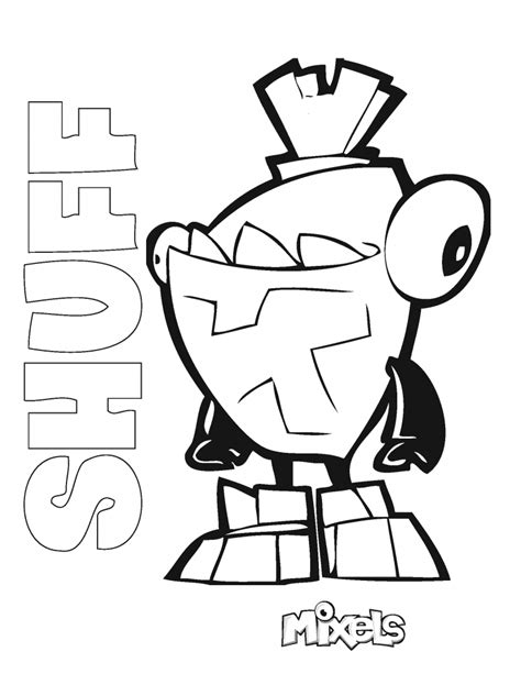 kraw mixels lego coloring pages coloring pages