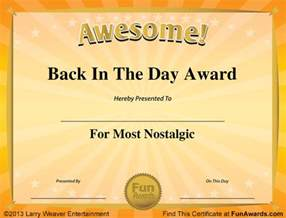 funny awards templates free new calendar template site