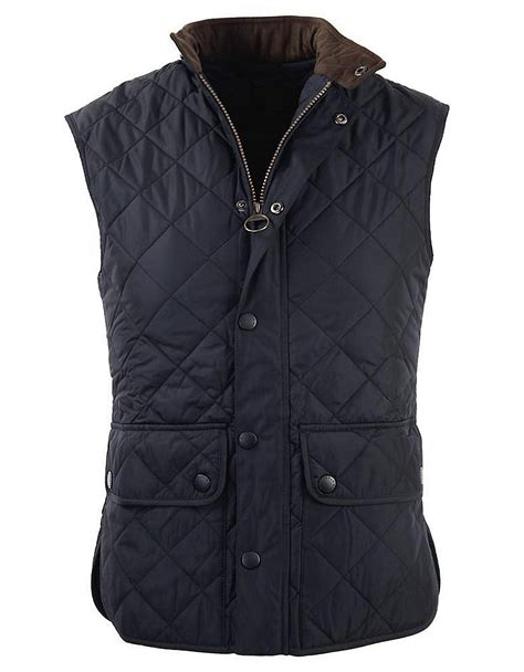 Barbour Quilted Gilet by Barbour Lowerdale Quilted Polar Fleece Gilet Vest In Blue