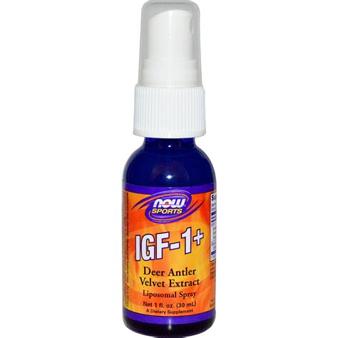 m factor supplements now foods sports igf 1 liposomal spray 1 fl oz 30 ml