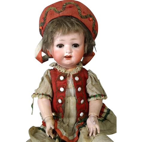 antique bisque german doll antique german bisque doll ernst heubach 267 from