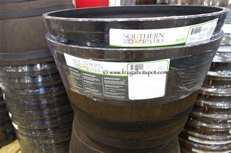 Costco Whiskey Barrel Planter by Costco Sale Southern Patio Whiskey Barrel Hdr Planter