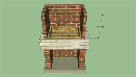 outdoor barbeque plans howtospecialist how to build step by step diy plans