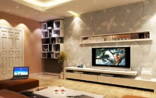 interior design on wall at home interior design tv wall wallpaper and wall cupboard