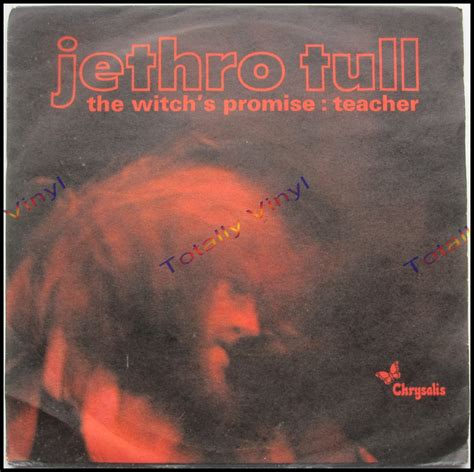 totally vinyl records jethro tull the witch s promise teacher 7 inch picture cover