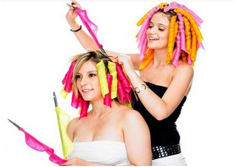 Alat Keriting Rambut Magic Leverage Hair Curler spiral volume magic curls hair alat keriting rambut multi color jakartanotebook
