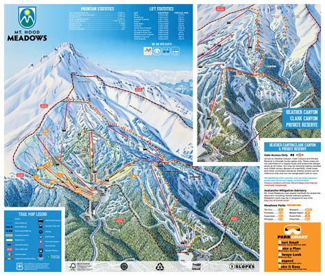 map of ski resorts in usa mount piste maps