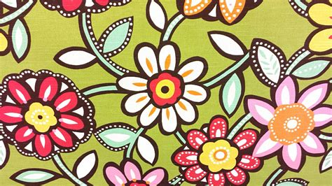 Motif Pola Seni Mosaic Pattern gambar putih vintage retro tekstur daun bunga imut