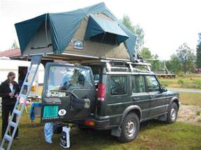 land rover discovery roof tent car interior design