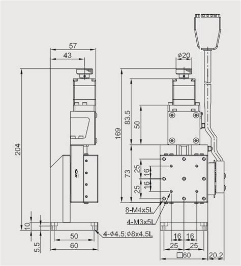 linear sketch pattern y axis motorized z axis linear positioning stage stage size is