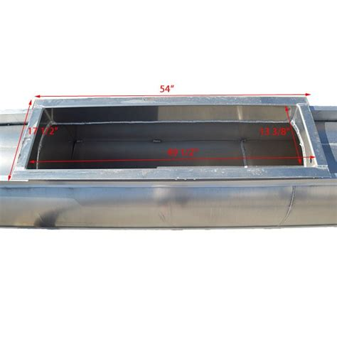 pontoon boat transom fuel tank custom 27ft x 24 quot center pontoon boat transom engine fuel