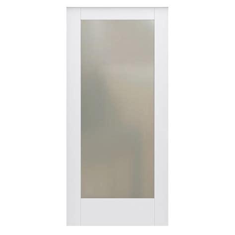 jeld wen 36 in x 80 in moda primed white 6 panel solid jeld wen 36 in x 80 in designglide moda primed pmt1011