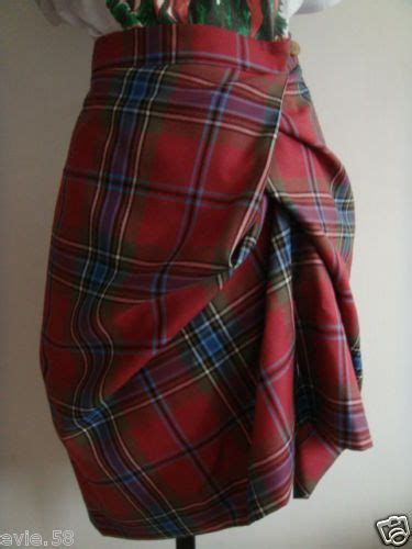 Be Tartan And Plaid Pretty In This Vivienne Westwood Dress by Beautiful Skirts And Suits On