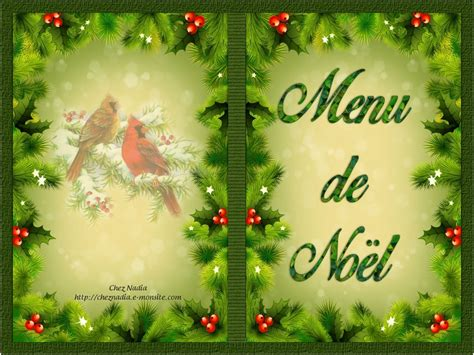 Carte De Noel Gratuite by Menu De Noel 192 Imprimer Gratuit Coloriages Store