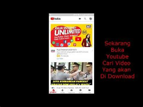 cara download mp3 dari youtube ke android cara mudah download video atau mp3 di youtube dari android
