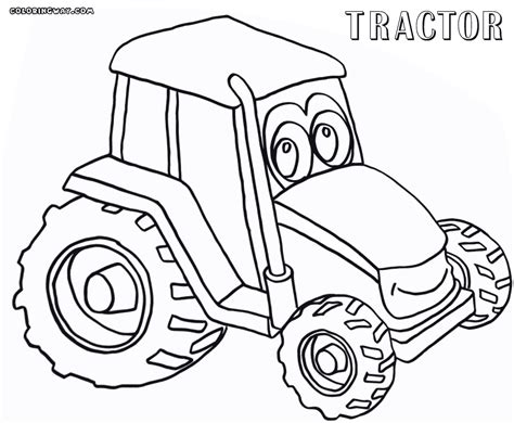 tractor coloring pages johnny tractor coloring pages gallery