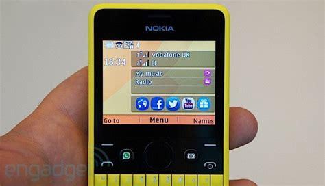 Secend Hp Nokia Asha 210 nokia announces asha 210 a colorful qwerty with a social