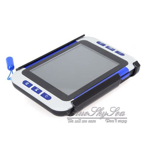 Lcd Portable portable 3 5 quot lcd 2 32x digital magnifier electronic reading aid magnifier ebay