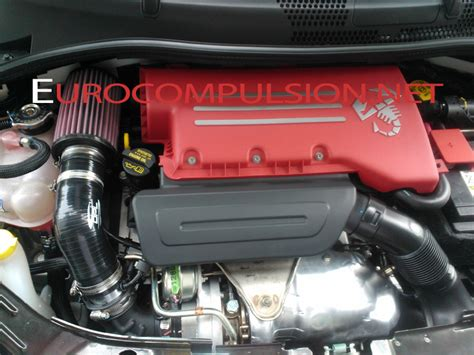 comp abarth intake prototype fiat 500 usa exclusive
