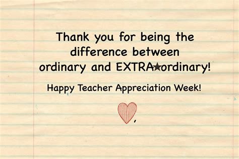 Thank You Letter For Appreciation Week Gum Appreciation Week Gift Printable Card Brie Brie Blooms