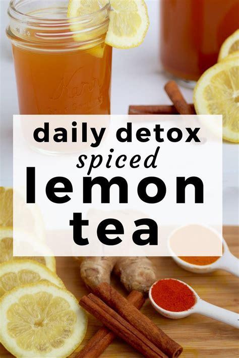 Lemon Turmeric Detox Tea by Best 25 The Tea Ideas On Lemon Tea