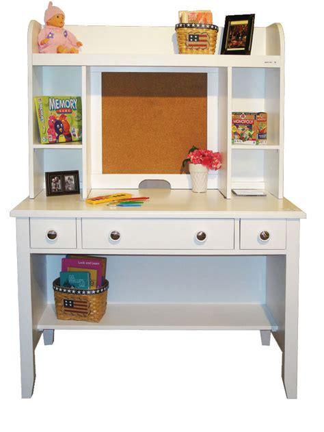 Del Mar White Desk With Hutch By Winners Only Tenpenny White Desk With Hutch