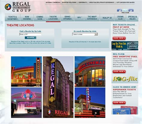 Regal Cinemas Gift Card Locations - regal theater schedule bing images