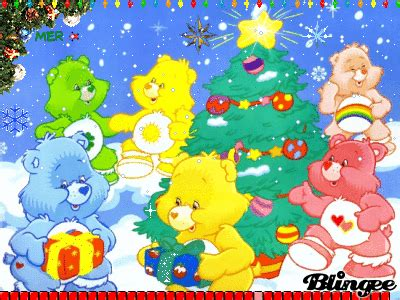 merry christmascare bears picture  blingeecom