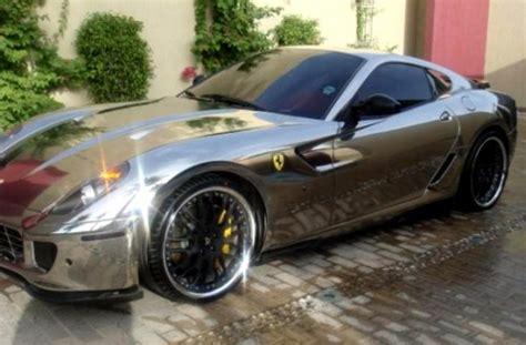Chrome or Silver or Platinum Ferrari 599 GTB Fiorano   CarZi