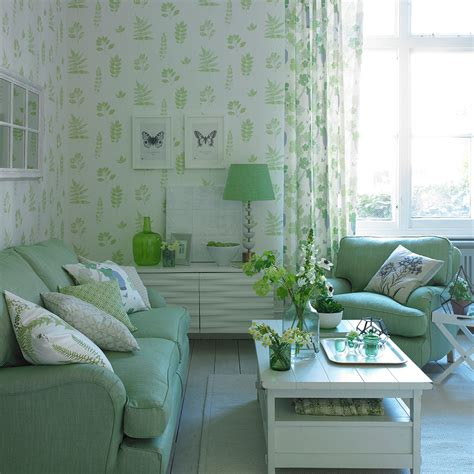 apple green living room how to decorate with green the most peaceful of colours