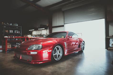 widebody supra mk4 1994 toyota supra mkiv turbo trd widebody for sale in