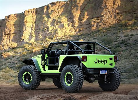 Jeep Events In Jeep Reveals Seven Concepts For This Year S Moab Event