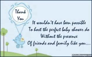 thank you messages for baby shower gifts thank you notes wishesmessages
